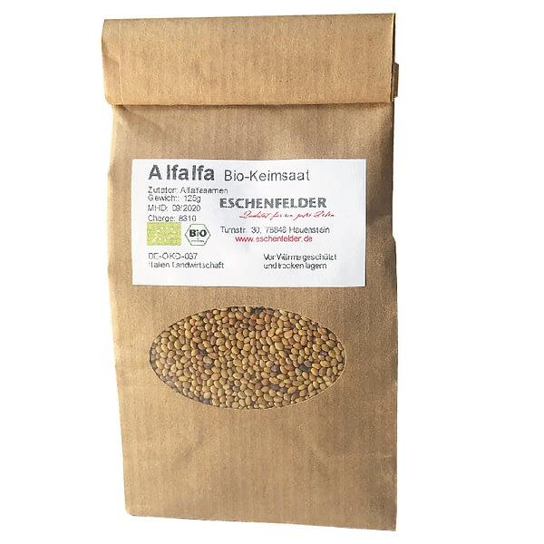 Alfalfa Bio Keimsaat 125 g