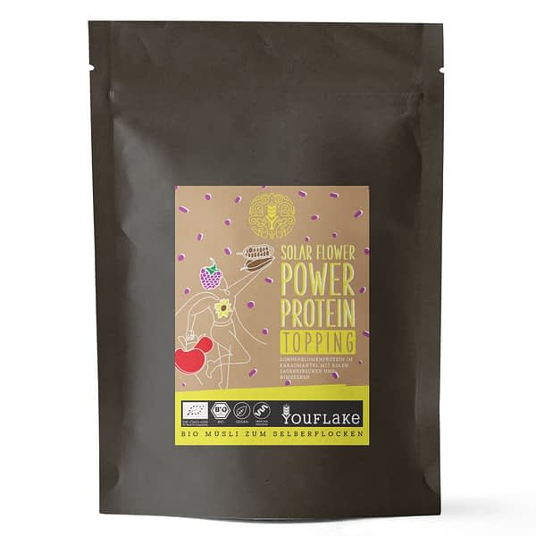 YouFlake Solar Flower Power Protein Topping Bio Bigpack Front