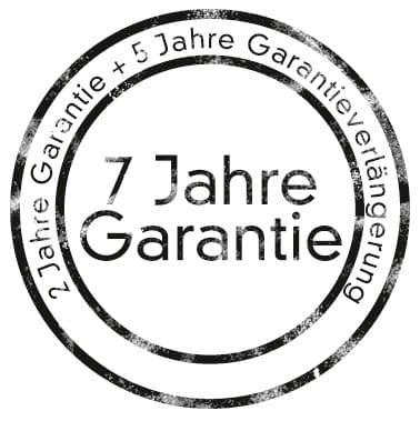 Schnitzer Garantie 2 Jahre + 5 Jahre Verlängerung