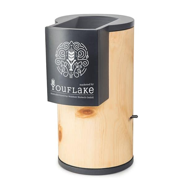 YouFlake MuesliMachine Zirbe, hergestellt als Waldner Lisa Zirbe
