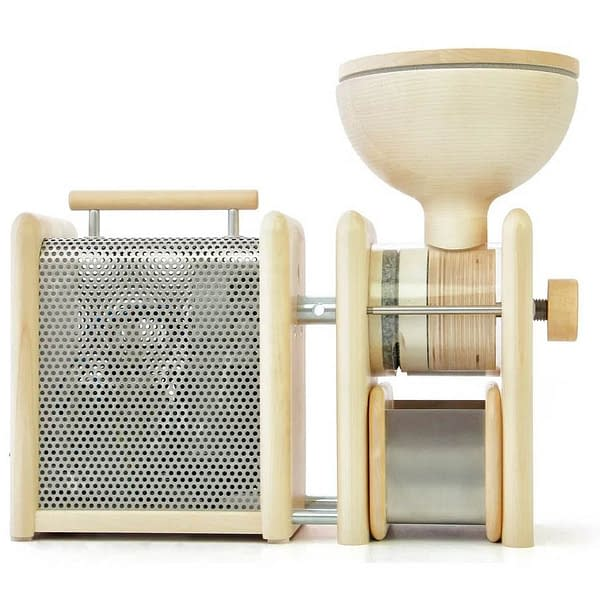 Elektroantrieb mit Handmühle