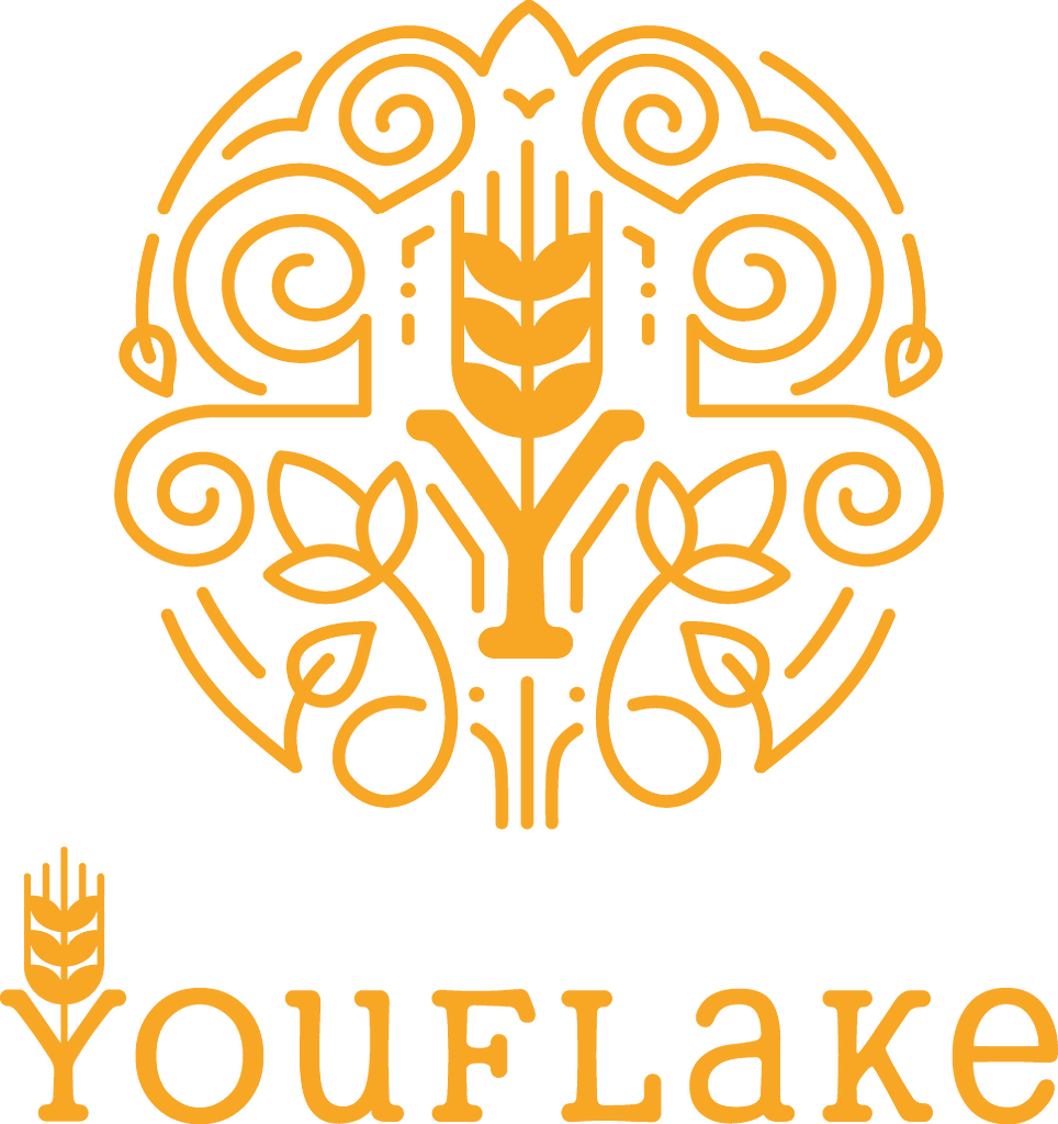YouFlake Logo mit Signet